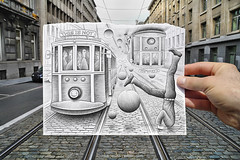 Pencil Vs Camera - 35 photo by Ben Heine