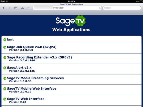 SageTV Mobile 2