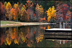 Impressions of Fall at Lake Cheaha photo by outsideshot