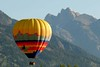 An early morning hot air balloon ride in the Tetons under a perfect sky looks like a good idea!