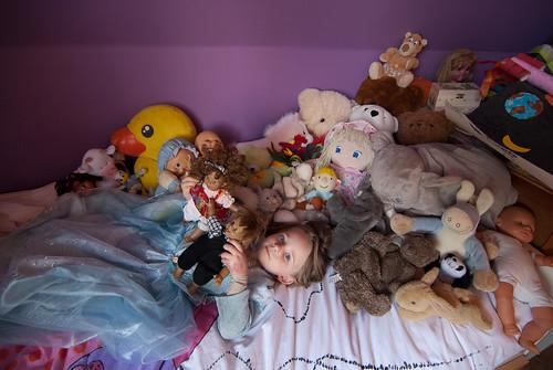 Die keer dat Anna haar poppen en dingen had opgeruimd