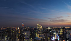 New York Sunset - Top of the Rock photo by DiGitALGoLD