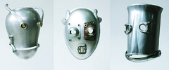 robot masks photo by Lockwasher