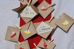 Origami cards photo by Mille gru di carta