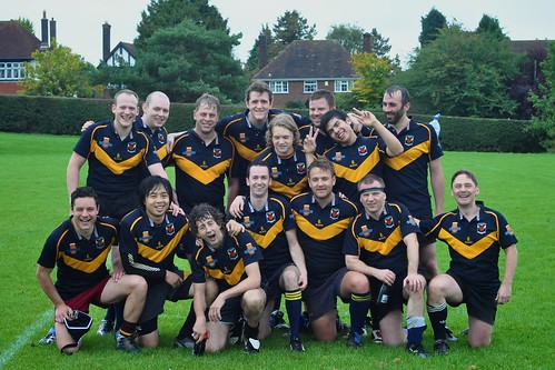 The Gogs (3rd XV) vs. Chesham October 2010