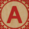 Block Letter A