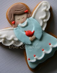Gingerbread Angel photo by Three Honeybees