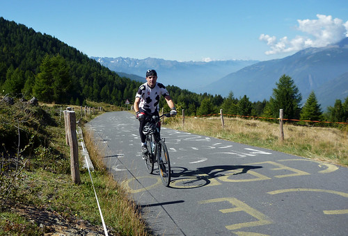 Top of Mortirolo