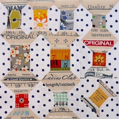Vintage Spools Block for me! photo by verykerryberry