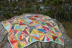 starburst quilt photo by filminthefridge