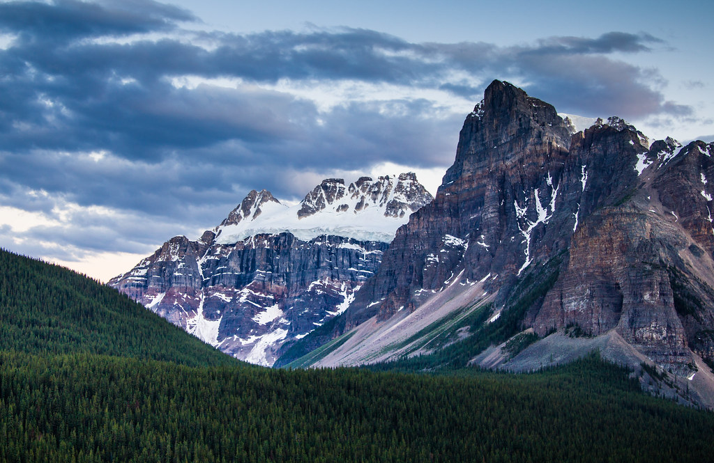 Towering Peaks photo by Jim Boud