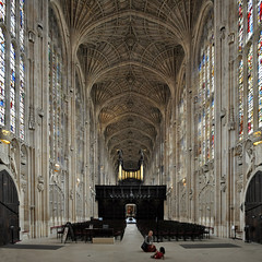 king's college chapel, cambridge 1446-1515. photo by seier+seier