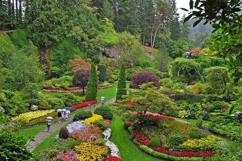 Victoria, BC, Butchart Gardens