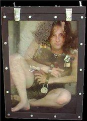 Dayle Krall in the Water Torture Tank Escape photo by Dayle Krall:Most Accomplished Female Escape Artist