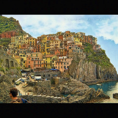 Manarola (Isn't HDR!) photo by in eva vae
