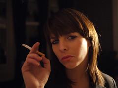 Miss J. smoking photo by Lexitos <....>