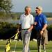 Heath Calhoun golf with President George W. Bush