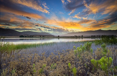 Sunrise at Otay Lakes photo by x-ray tech