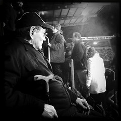 Old Fan at Halftime photo by piechotka photography