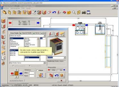 Autokitchen programa para el dise o de cocinas for Programa para disenar muebles gratis espanol