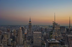 New York City Sunset - Top of the Rock Manhattan NYC [EXPLORED] photo by DiGitALGoLD