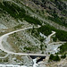 Mattmark:  Below the dam