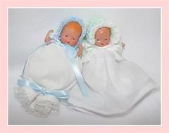 Little white dresses Nancy Ann Dolls photo by NancyAnnBabyDolls