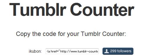 Tumblr Counter