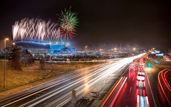 The Denver Fireworks photo by mattsantomarco
