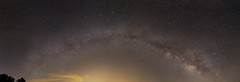 Milky Way Panoramic photo by Harles99