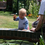 Waving to the fish<br/>11 Jul 2010