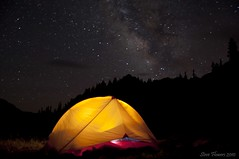 Backcountry Milky Way view.  [Explored] photo by Steve Flowers