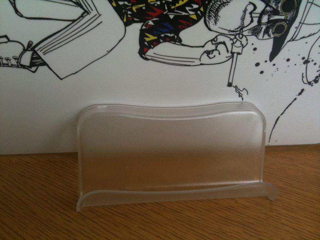 Cheap and Cheerful iPad Stand