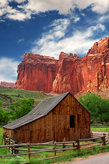 Old Barn Near Fruita at Capitol Reef National Park, Utah photo by D200-PAUL