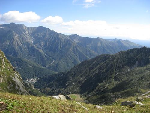 Vista dall'Alpe Giaspret