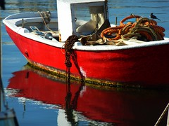 Boat and ropes photo by Marite2007