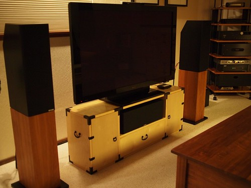 Tansu-style TV Stand