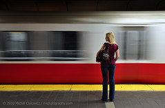 Finally, the Red Line photo by Mike Cialowicz