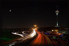 Colorful Tehran @ night! photo by M@@nʎ