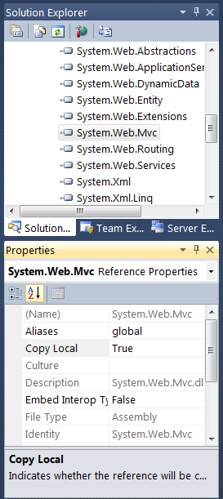 Bin Deploy for System.Web.MVC