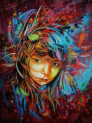 "C215 - ""I Will Fly Away"" photo by C215"