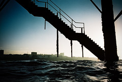 pier steps photo by lomokev