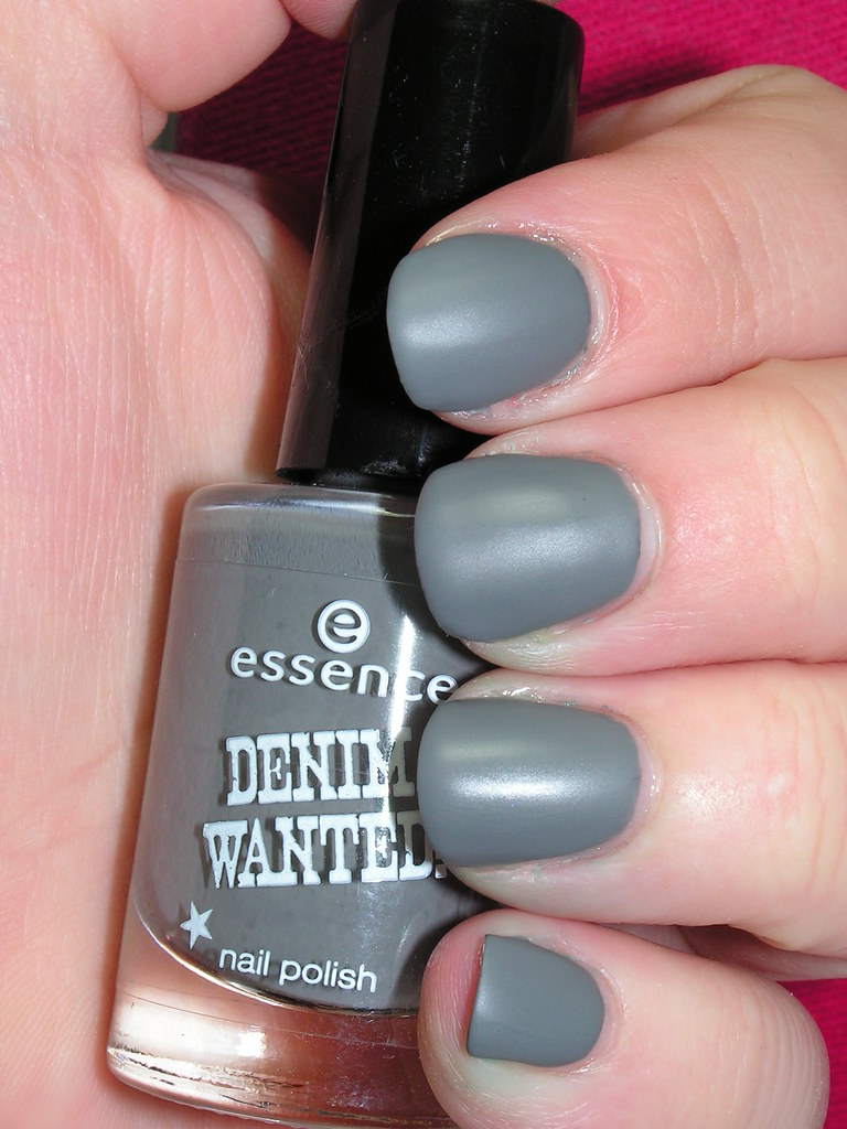 essence denim wanted! 05 fivepocket grey 3C with TC-matte