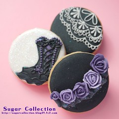 Burlesque cookies photo by JILL's Sugar Collection