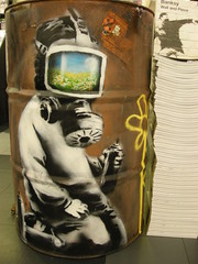 Banksy photo by Sa//y