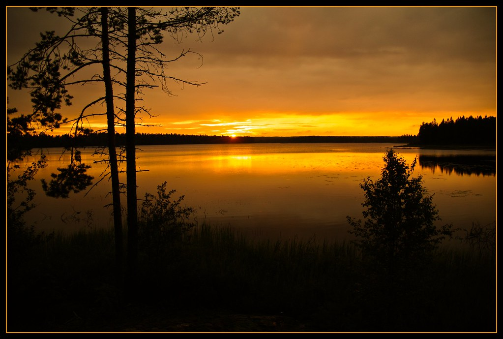 Schweden - magical evening photo by NPPhotographie