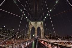 Spider-Man's Web: Brooklyn Bridge - New York City photo by DiGitALGoLD