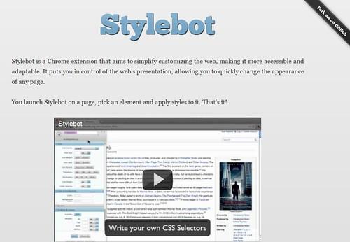 Stylebot