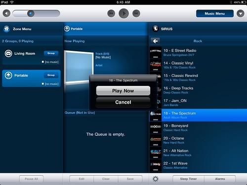 Sonos iPad Controller