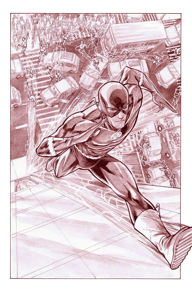 Flash 4 pg03 original by Francis Manapul 2010